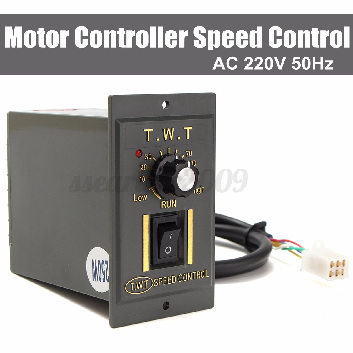 Ac 220v 250w variable speed control controller for ac for Two speed motor control