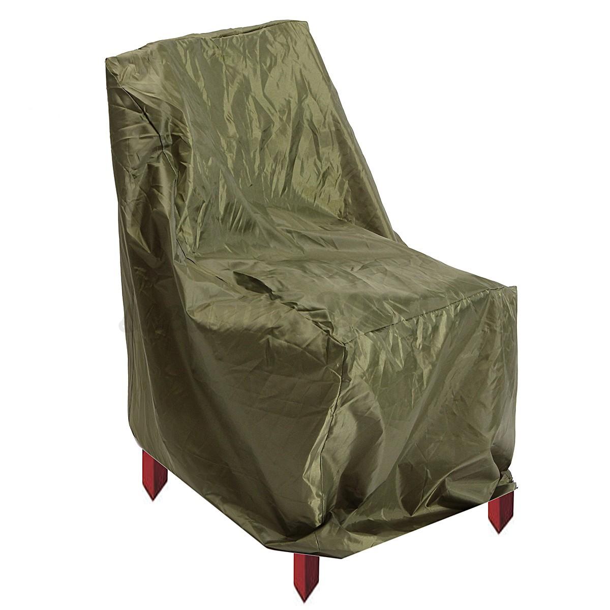 Outdoor Waterproof High Back Chair Cover Garden Patio