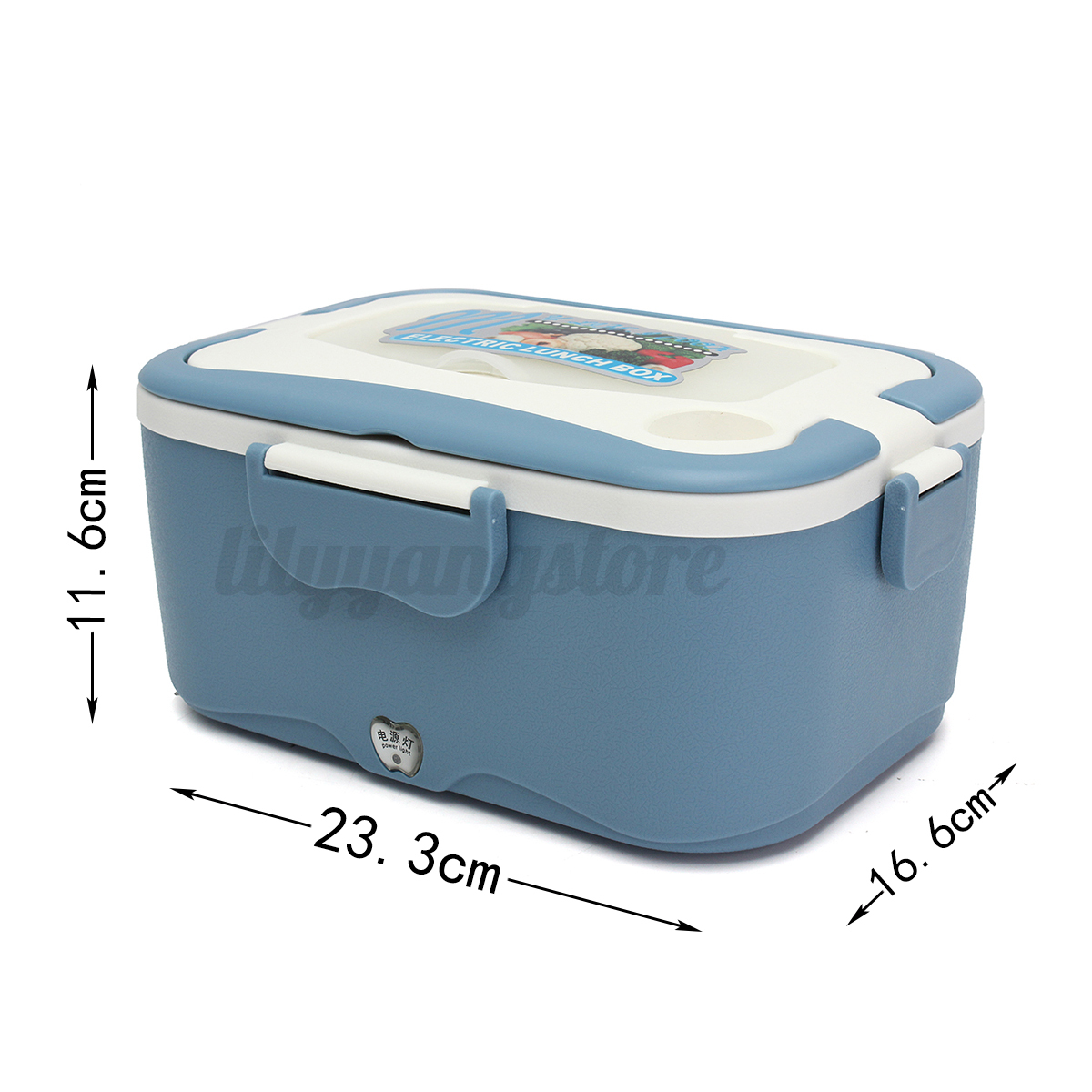 Portable 1 5l car plug electric heating lunch box food for Lunch box pas cher
