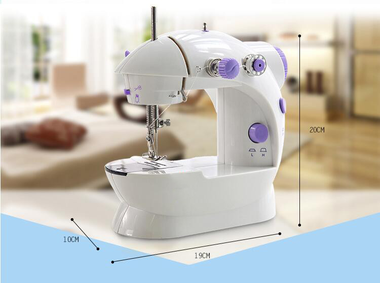 Hemline Mini Sewing Machine 2 Speed Ideal For Beginners /& Kids