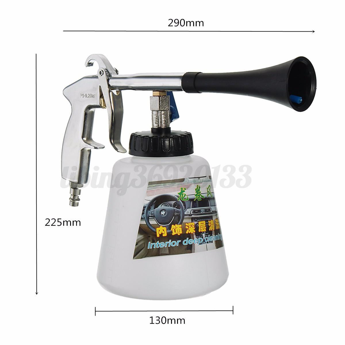 pistolet nettoyage lavage nettoyeur portable automobile voiture air comprim ebay. Black Bedroom Furniture Sets. Home Design Ideas