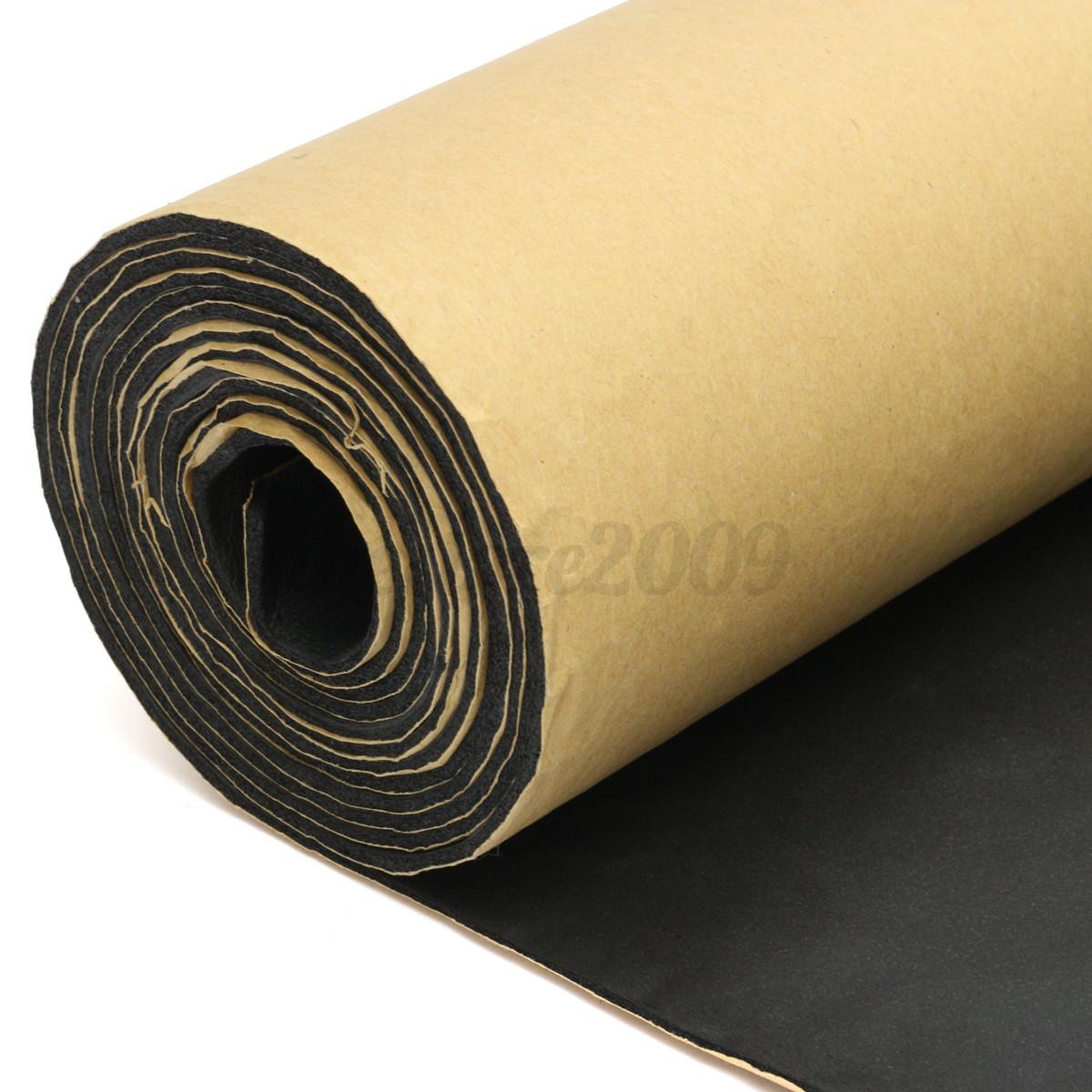 Acoustic Foam Insulation : Mm car sound proofing deadening insulation foam mat