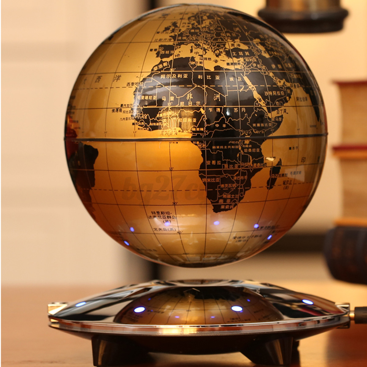 how to fix the magnetic floating globe