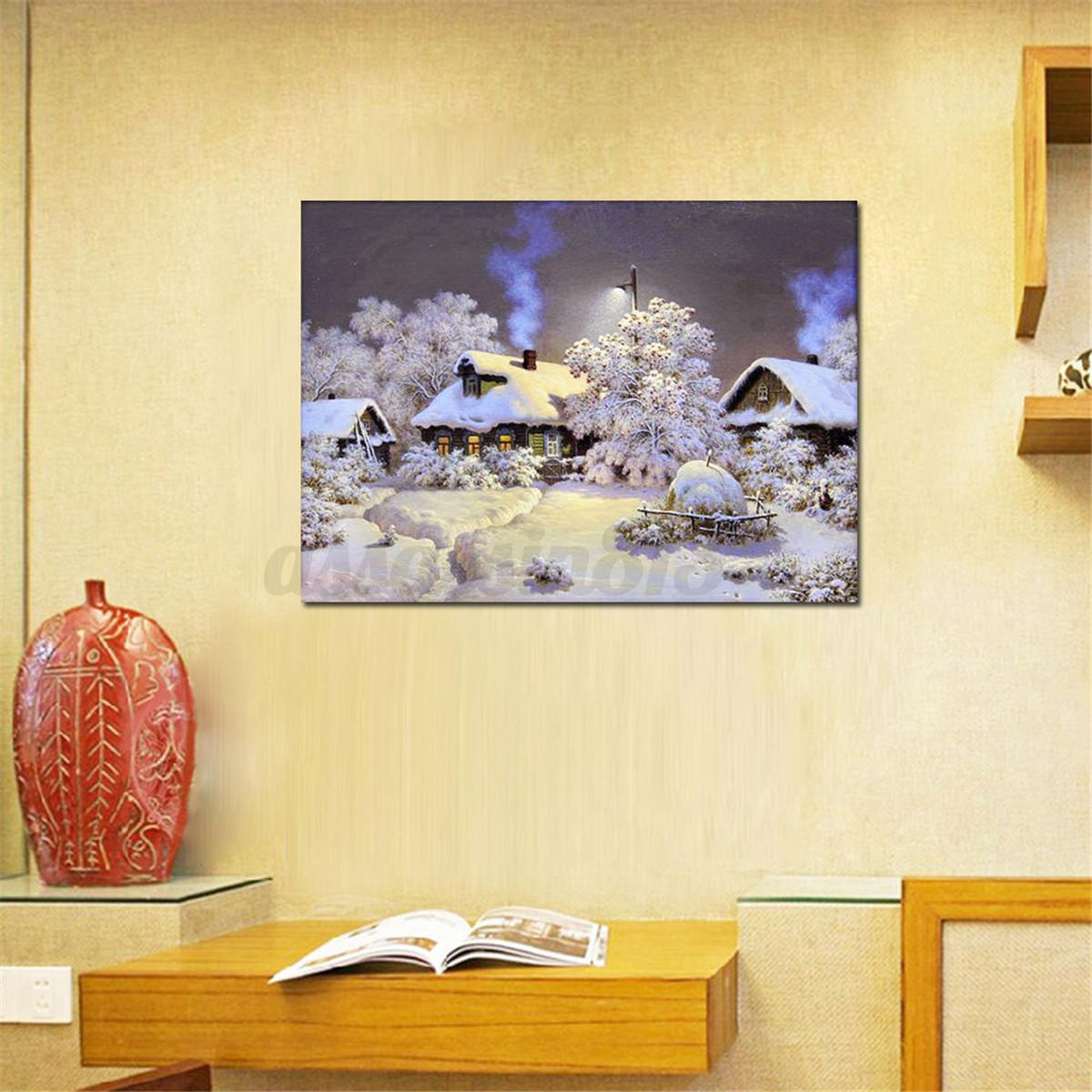 5d diamond tower painting bridge diy craft handmade for Home decor 5d