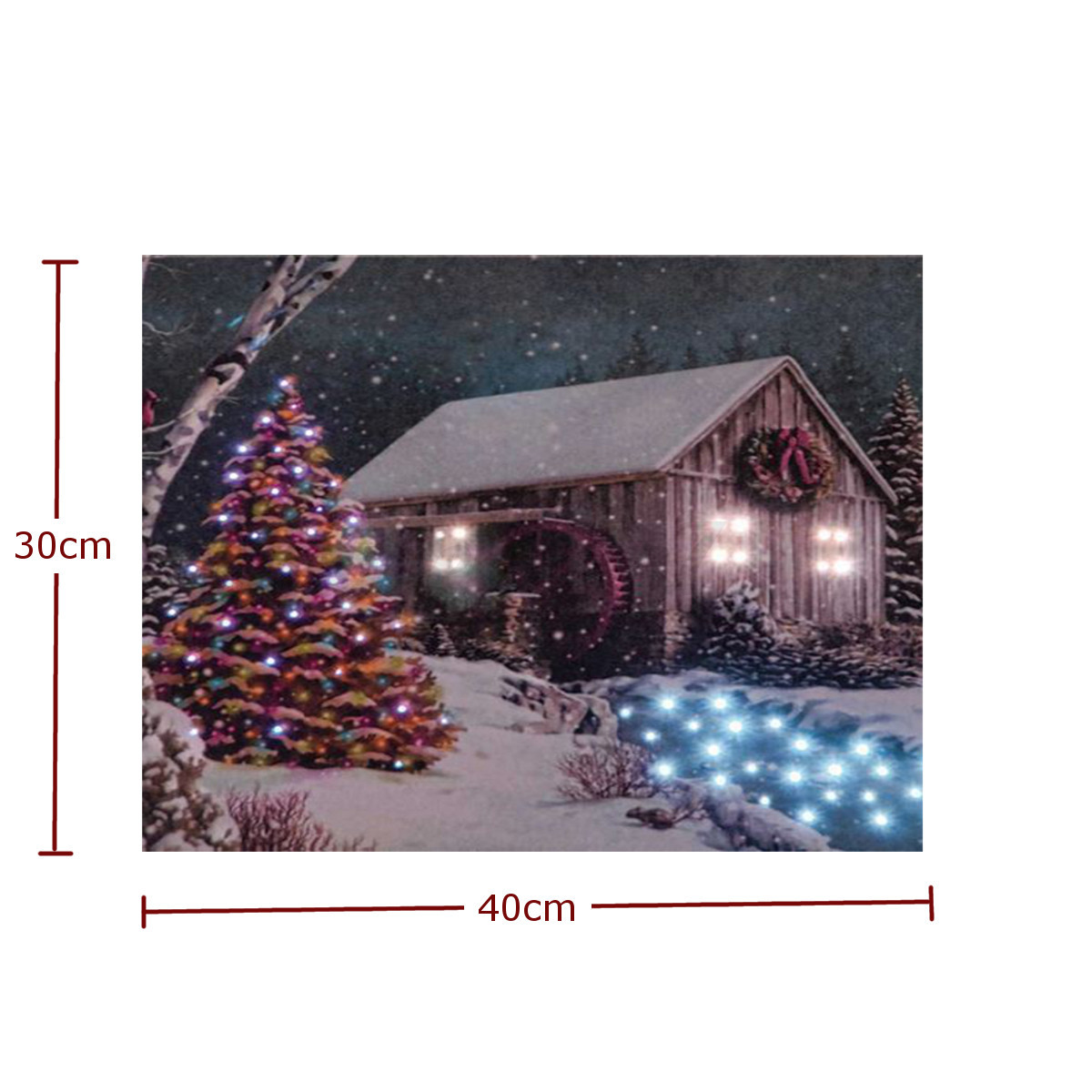light up led lighted christmas candle horses wall art home. Black Bedroom Furniture Sets. Home Design Ideas