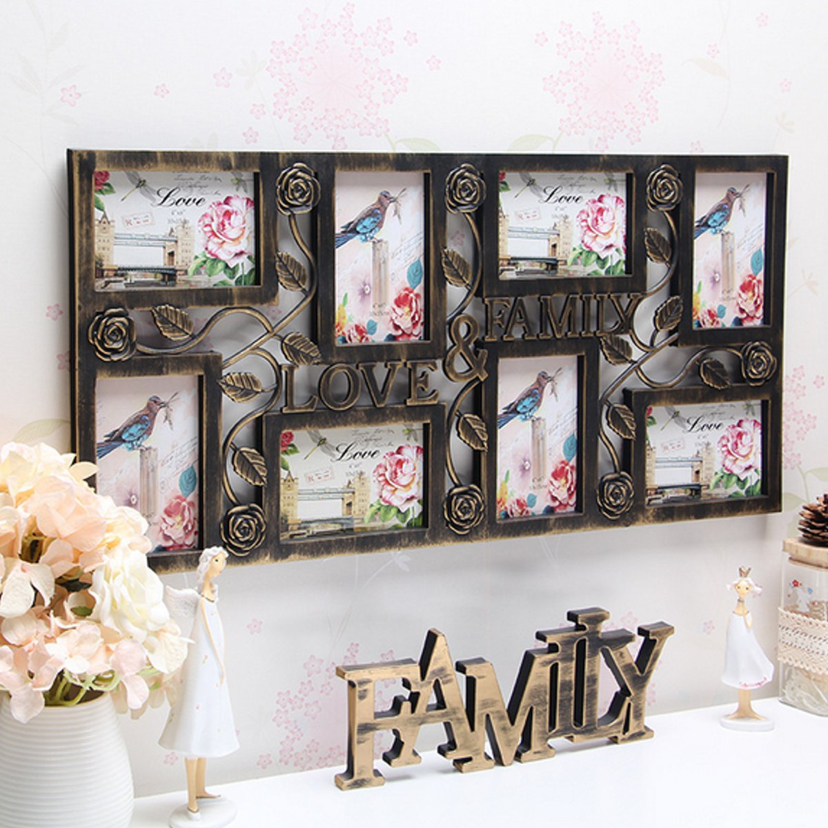 Multi Photoframe Family Love Picture Wall Photo Frames