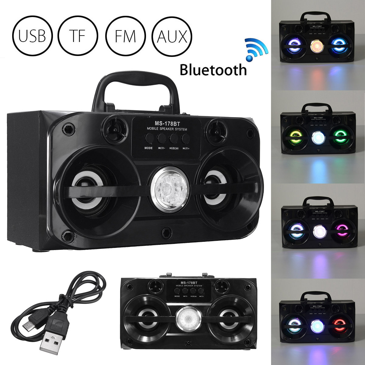 how to connect fm radio to bluetooth speaker