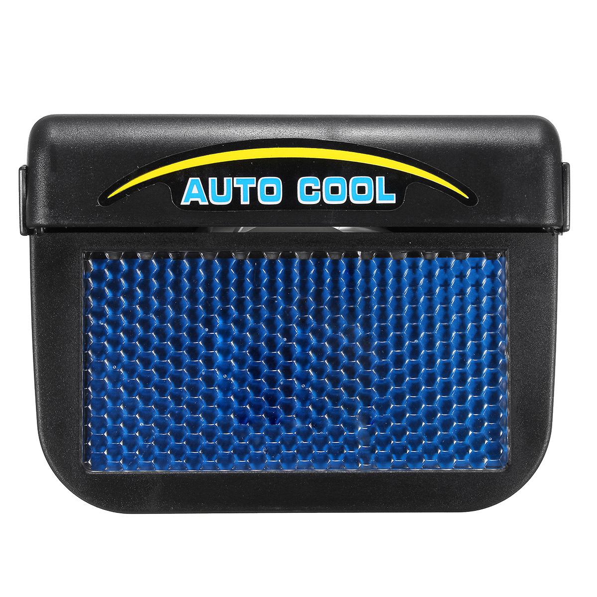 solar power car window fan auto ventilator cooling vehicle air vent portable jsd ebay. Black Bedroom Furniture Sets. Home Design Ideas