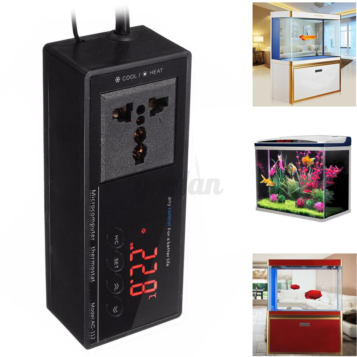 Incubator Thermostat Aquarium Temperature Controller Socket eBay #75211D