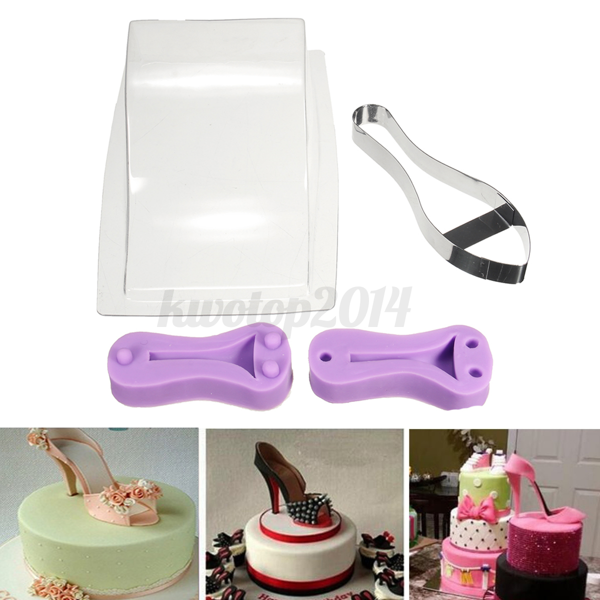 D Wedding Cake Chocolate Molds