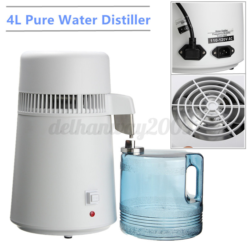 Water Distiller Manual ~ Home dental medical l water pure distiller purifier