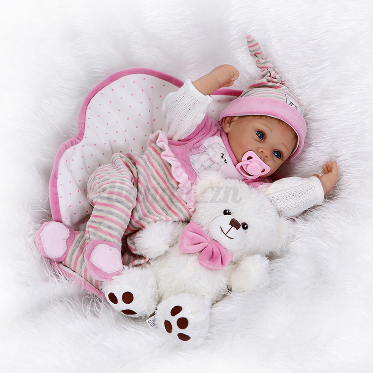 Real Life Mädchen Junge Silikon Vinyl reborn Baby puppe Kind ...
