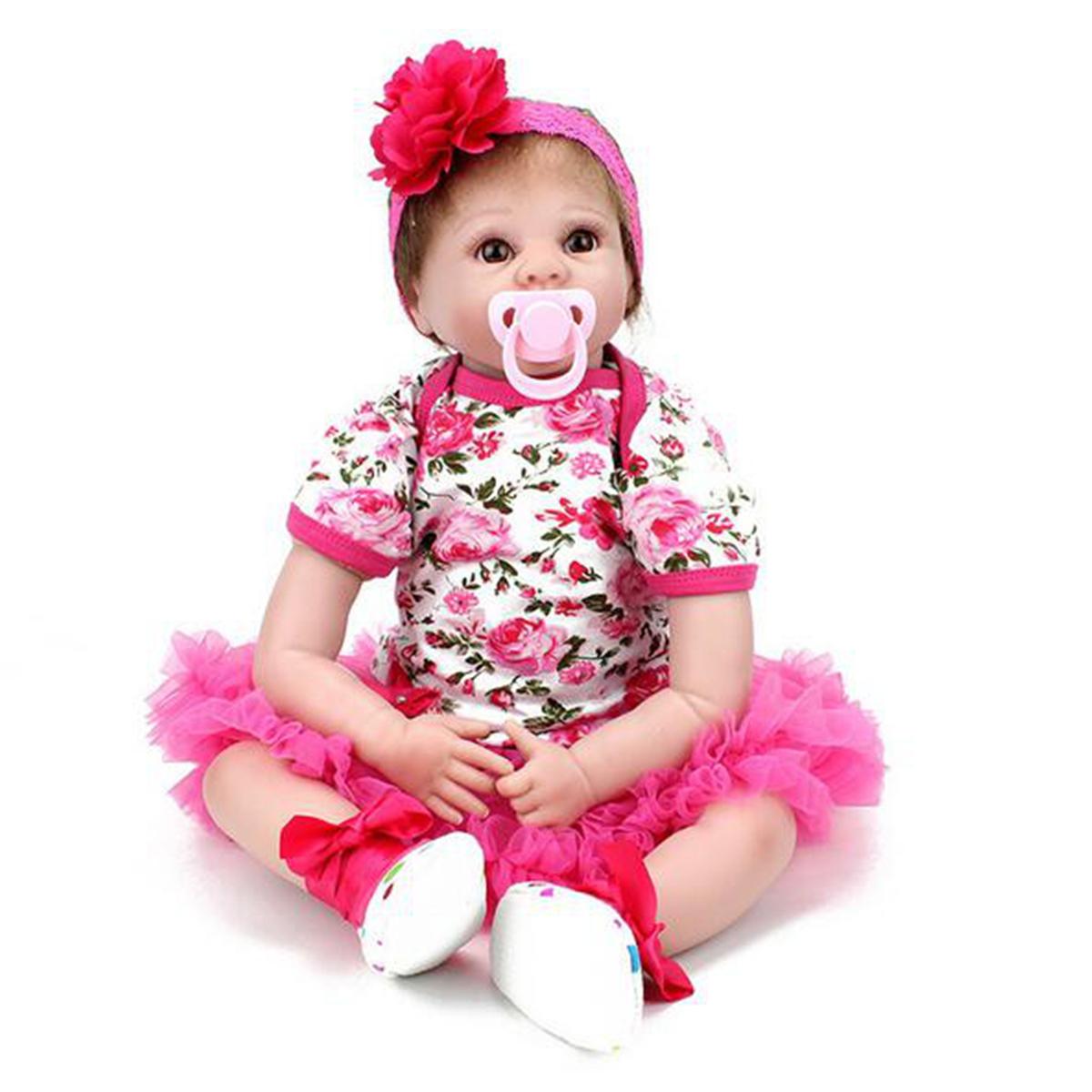 """18/22"""" Realistic Newborn Baby Doll Reborn Soft Girl Boy ..."""
