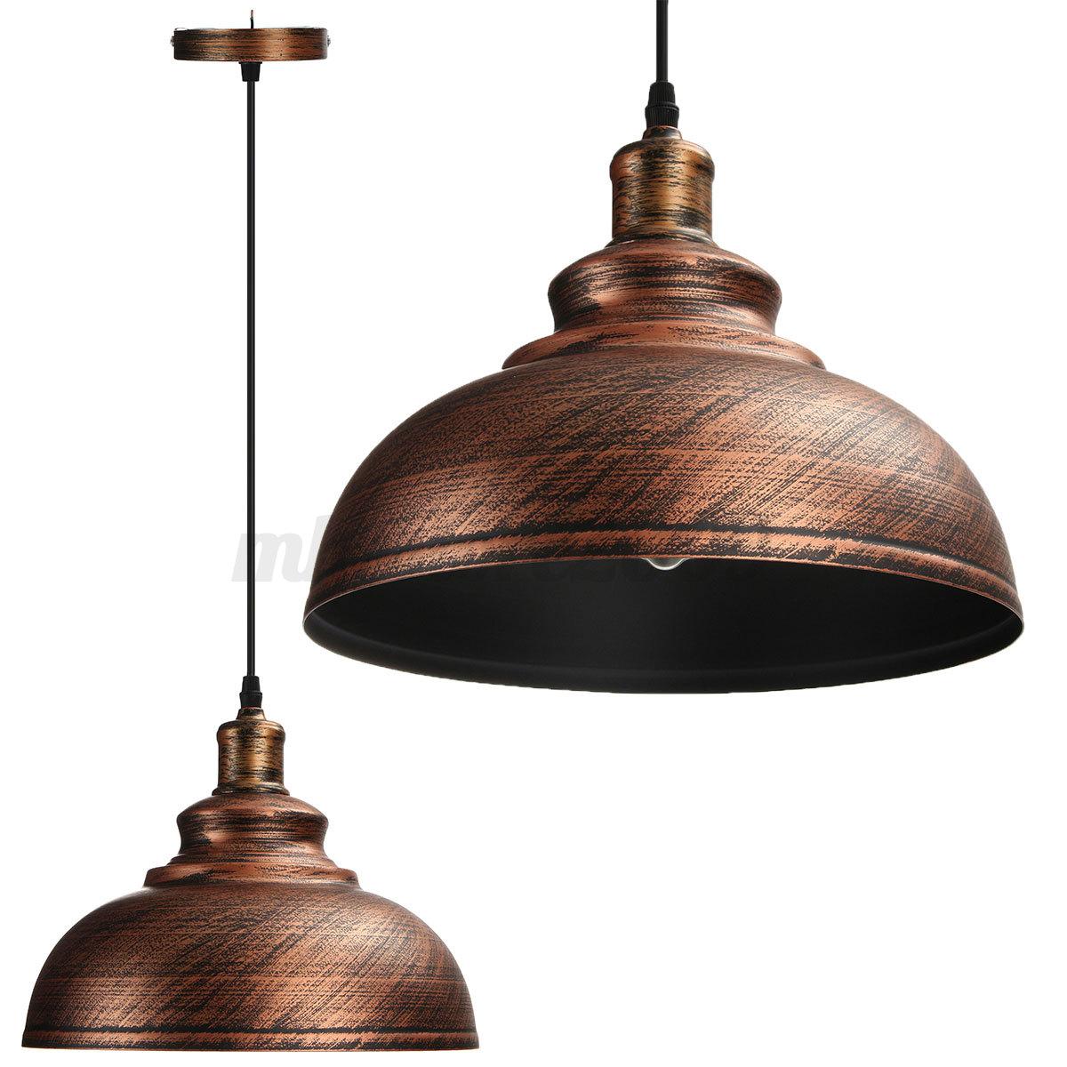 Vintage Industrial Loft Style Ceiling Fixtures Retro Lamp: Vintage Ceiling Light Retro Pendant Lamp Industrial Loft