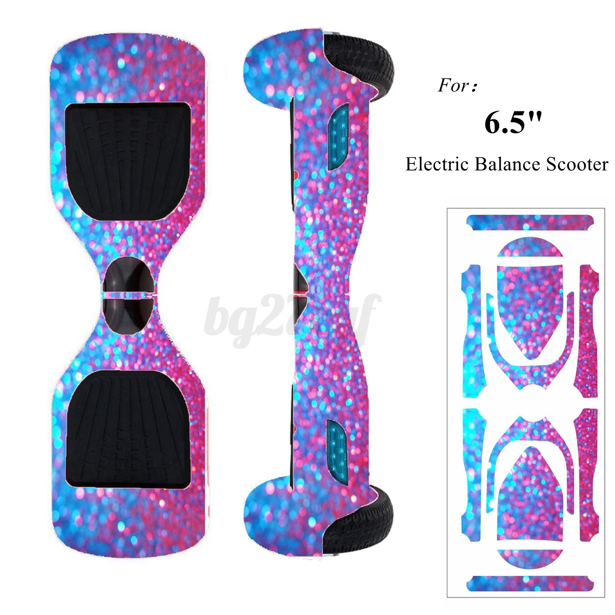 6 5 diy self balancing scooter hoverboard skin custom sticker decals kit new picclick au. Black Bedroom Furniture Sets. Home Design Ideas