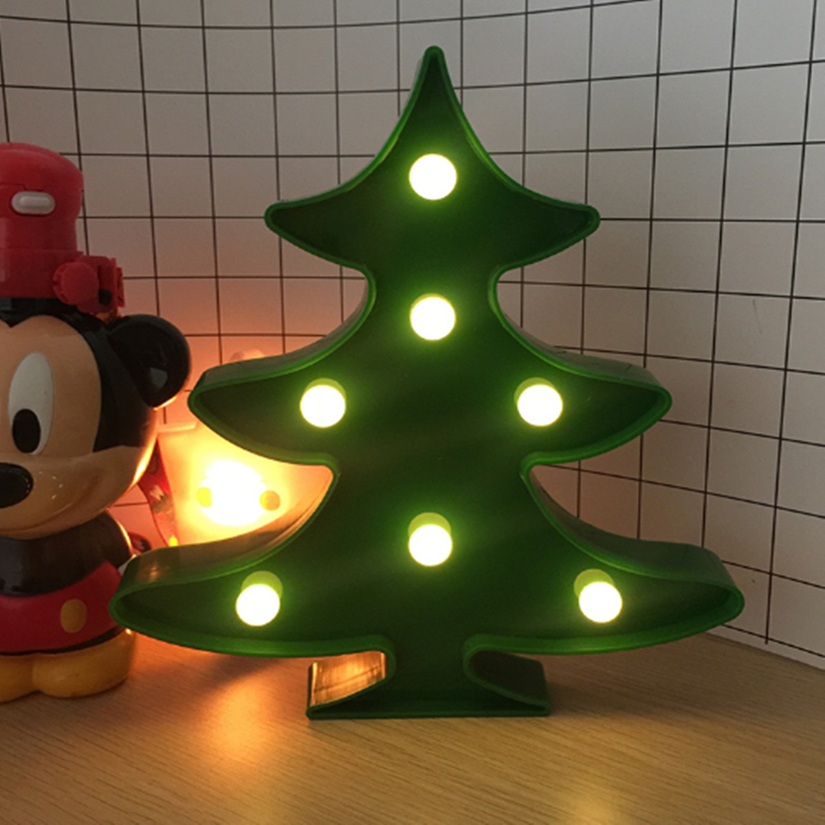 LED Night Lights Lamp Bright Home Bedroom Decoration Xmas ...