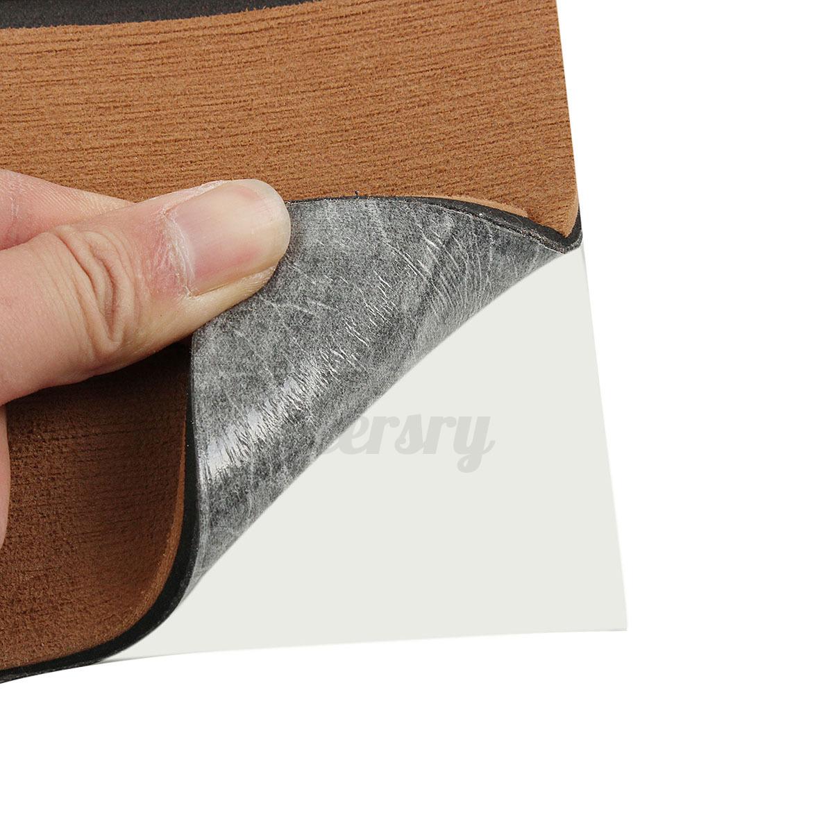 EVA-Bodenbelag-2400x1200x6mm-Fussboden-Teak-Flooring-Dunkelbraun-fuer-Yacht-Boot Indexbild 10