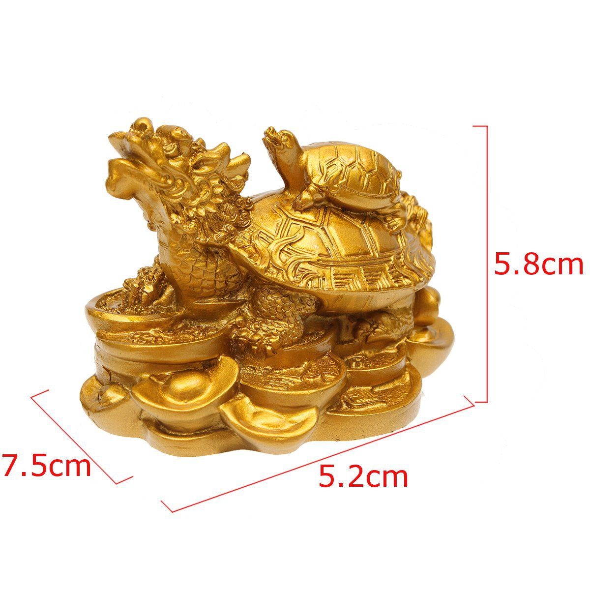 chinois dragon tortue feng shui statue figurine statuette amulette buddhist ebay. Black Bedroom Furniture Sets. Home Design Ideas