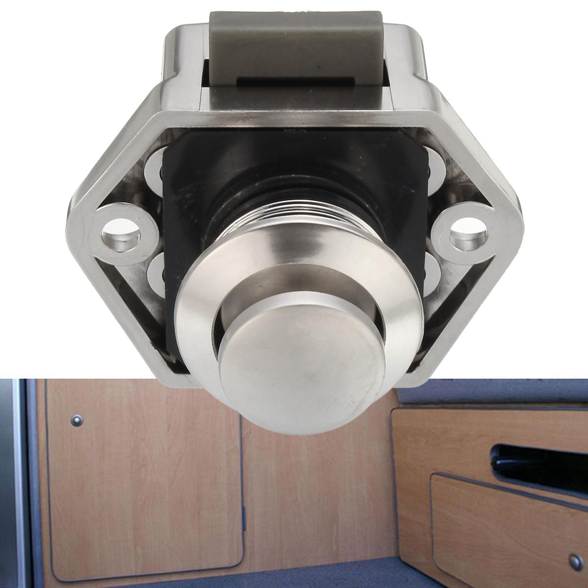 4x Push Button Schlösser Schublade Schrank Tür Verschluss Wohnwagen ...