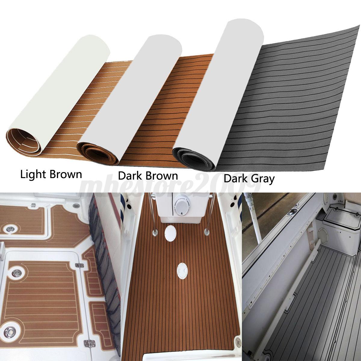 3 Color Eva Marine Boat Flooring Yacht Teak Decking Carpet