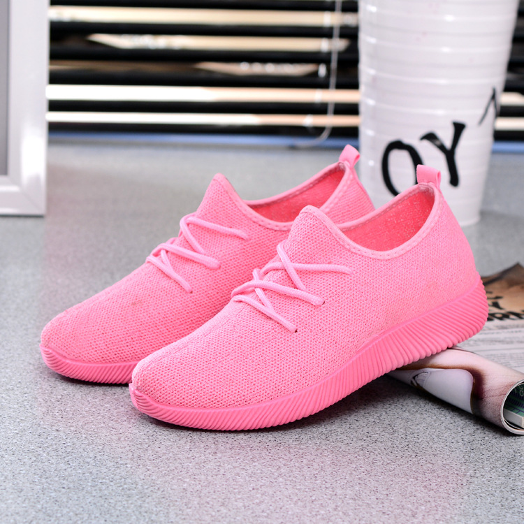 Women s Outdoor Mesh Sports Shoes Breathable Casual Sneakers Shoes TB