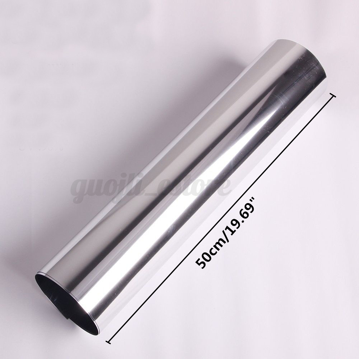150x50cm reflective silver one way window film privacy for Miroir 150x50