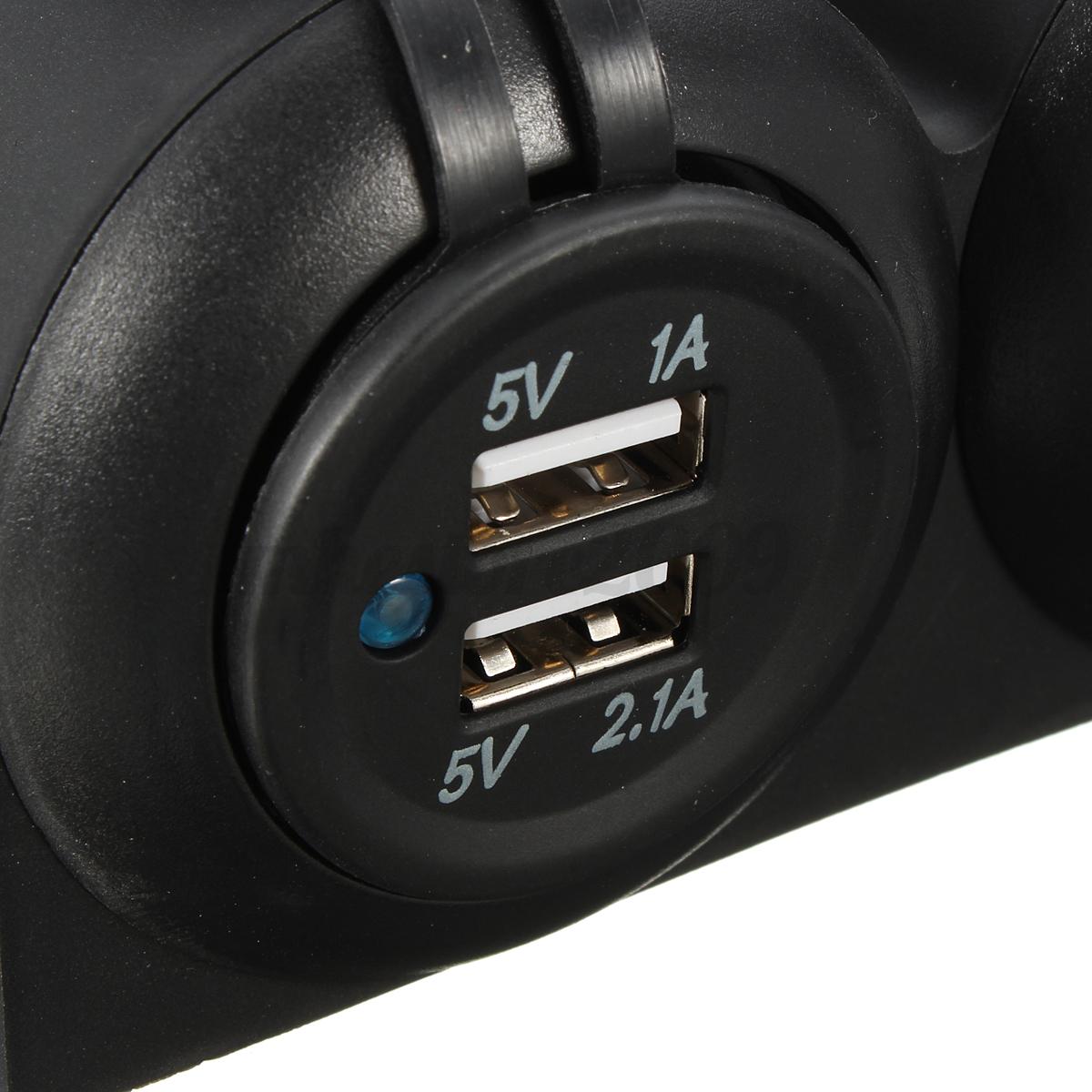 Rv Power Meter : V boat rv marine led voltmeter voltage meter gauge