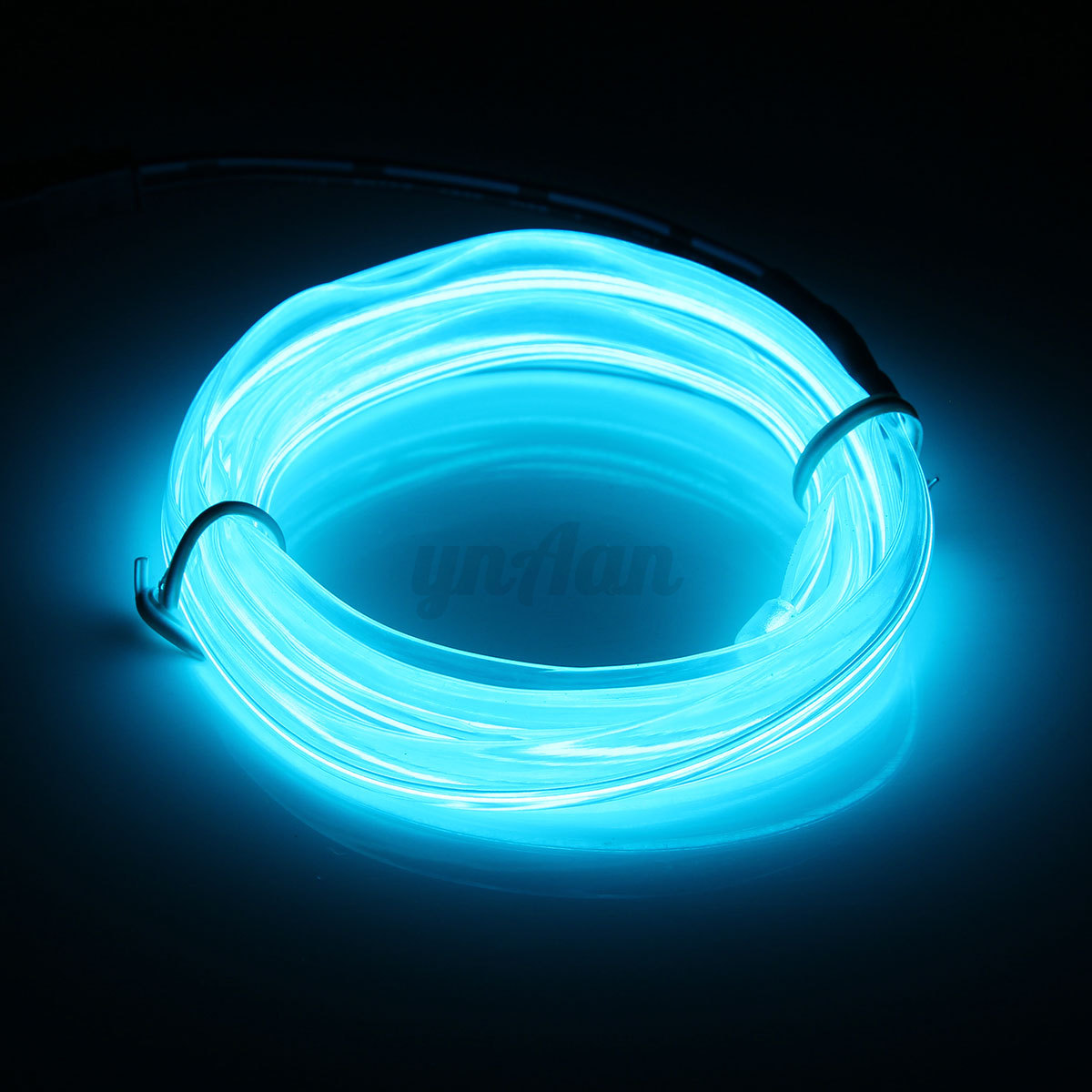 1 3 5m car interior atmosphere glow el wire neonled string strip light rope tube ebay. Black Bedroom Furniture Sets. Home Design Ideas