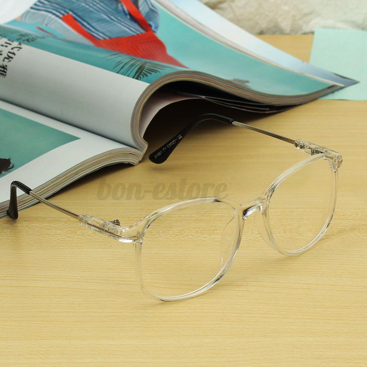 Transparent Eyeglass Frame Men Women Full Rim Spectacles Clear ...