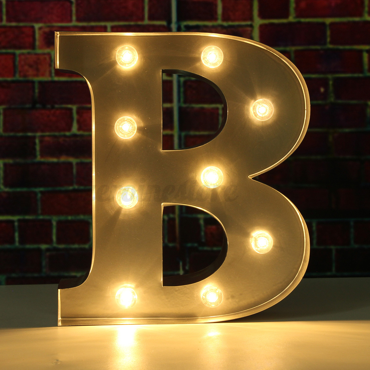 9 metal led marquee letter alphabet light a to m vintage circus