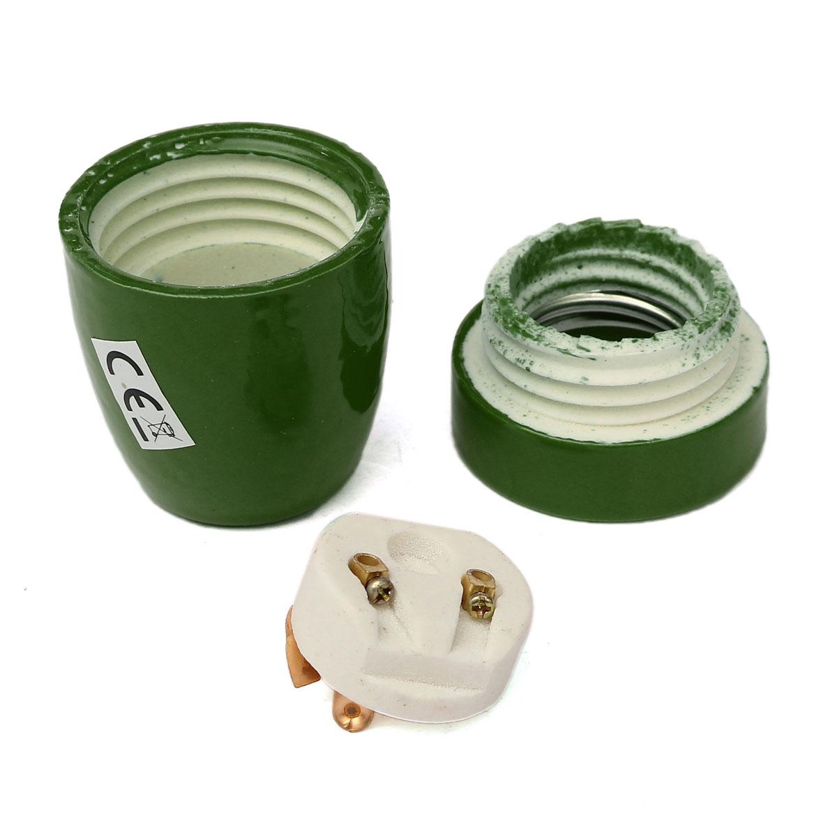 ES-E27-E26-Titulaire-Douille-Ceramique-Multicolor-Vintage-Socket-Edison-Lampe-CE