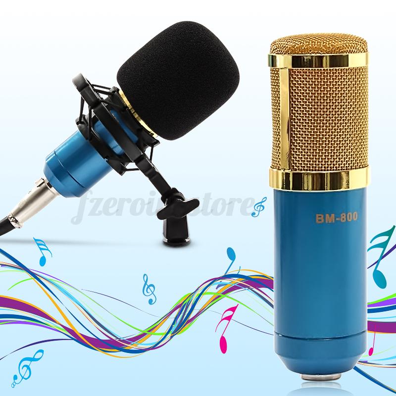 bm700 bm800 condenser dynamic microphone mic sound studio recording shock mount ebay. Black Bedroom Furniture Sets. Home Design Ideas