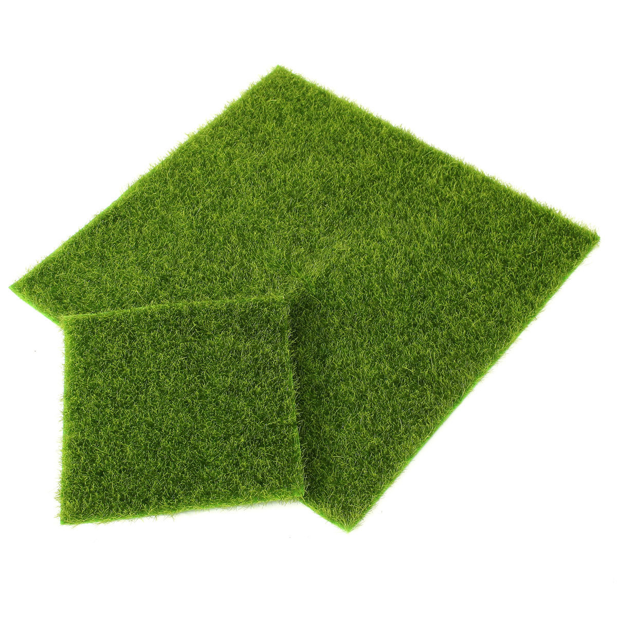 Artificial grass fake lawn turf landscape garden ornament for Faux grass for crafts