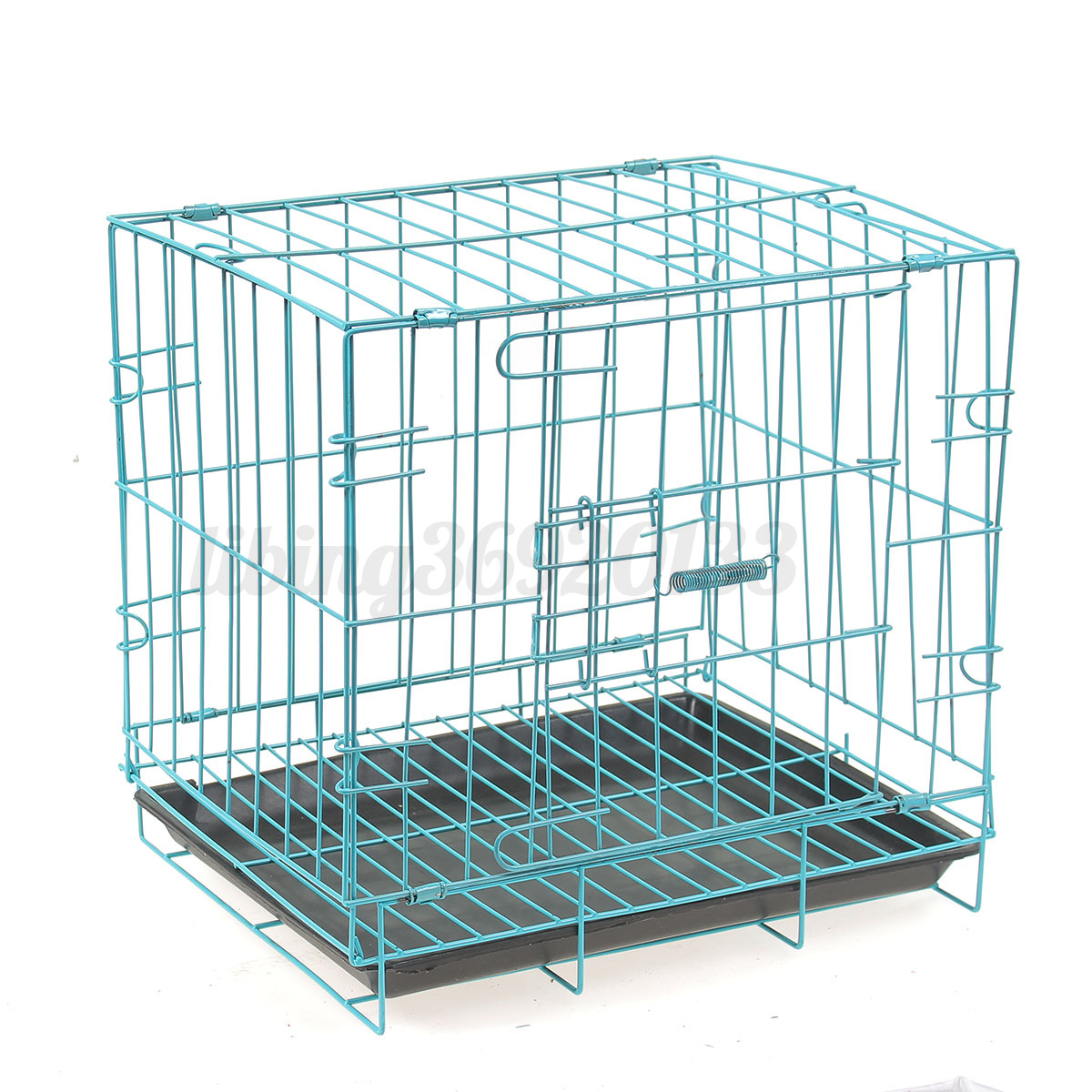 14 Quot Small Dog Pet Cat Crate Cage Kennel Metal Folding Door