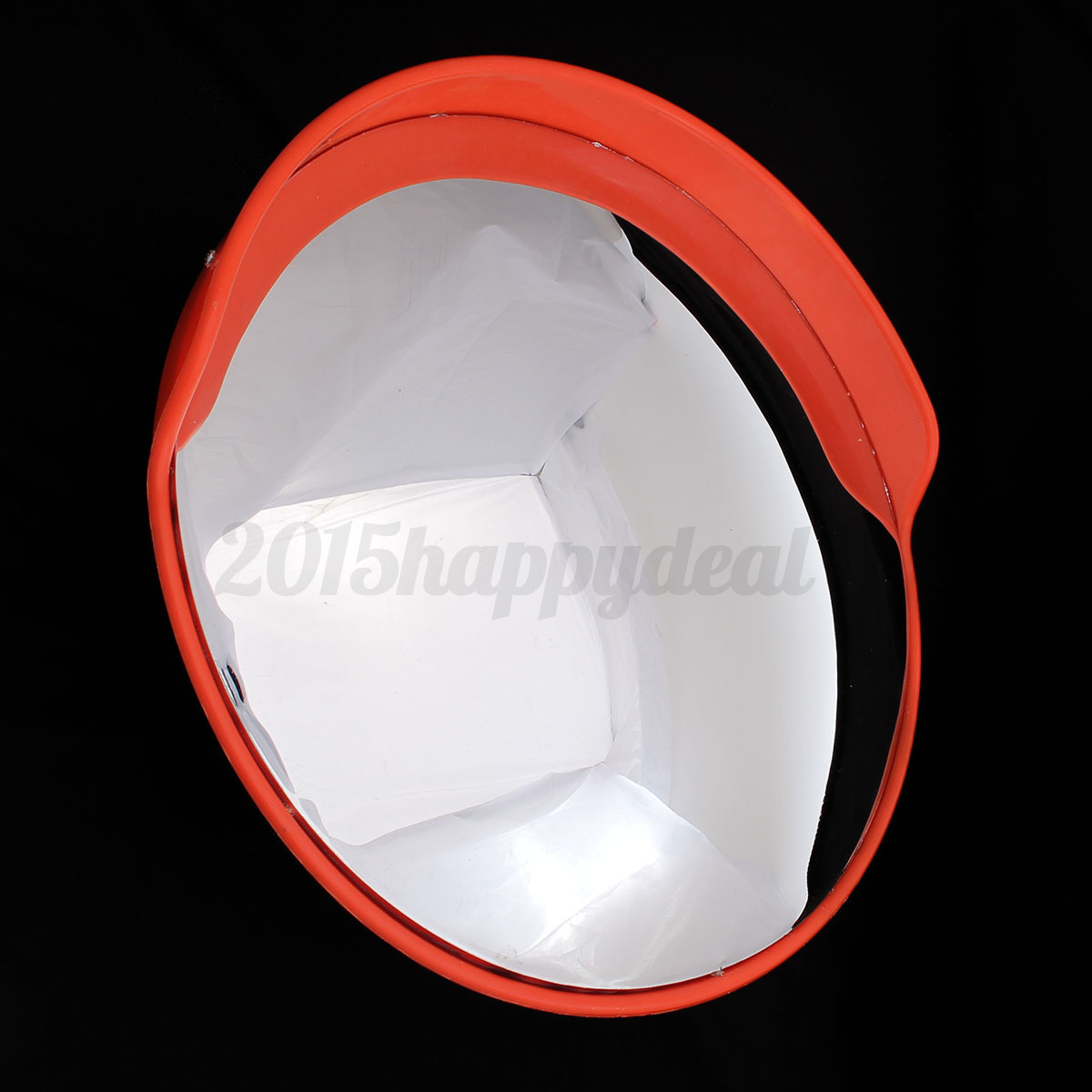 Wide angle security visor curved convex road mirror for Mirror 60cm wide