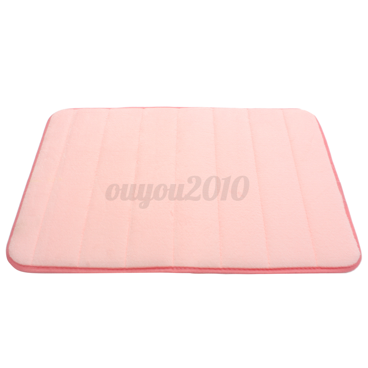 Memory Foam Absorbent Bathroom Shower Bath Mat Non Slip