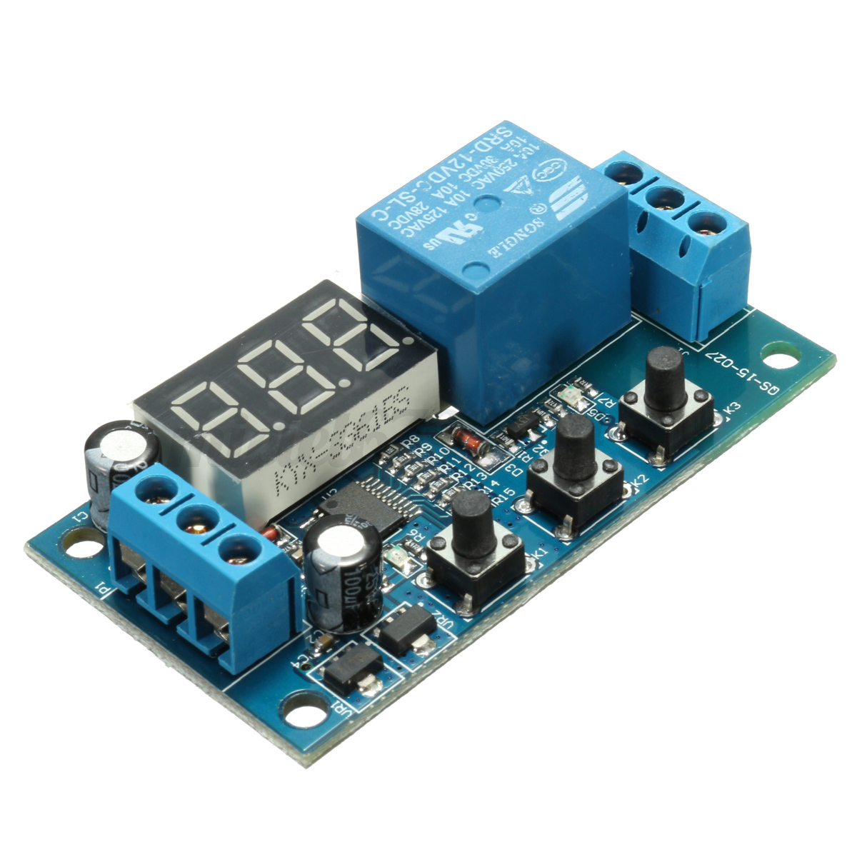 Dc 12v Delay Time Switch Module Cycle Timer Control Relay