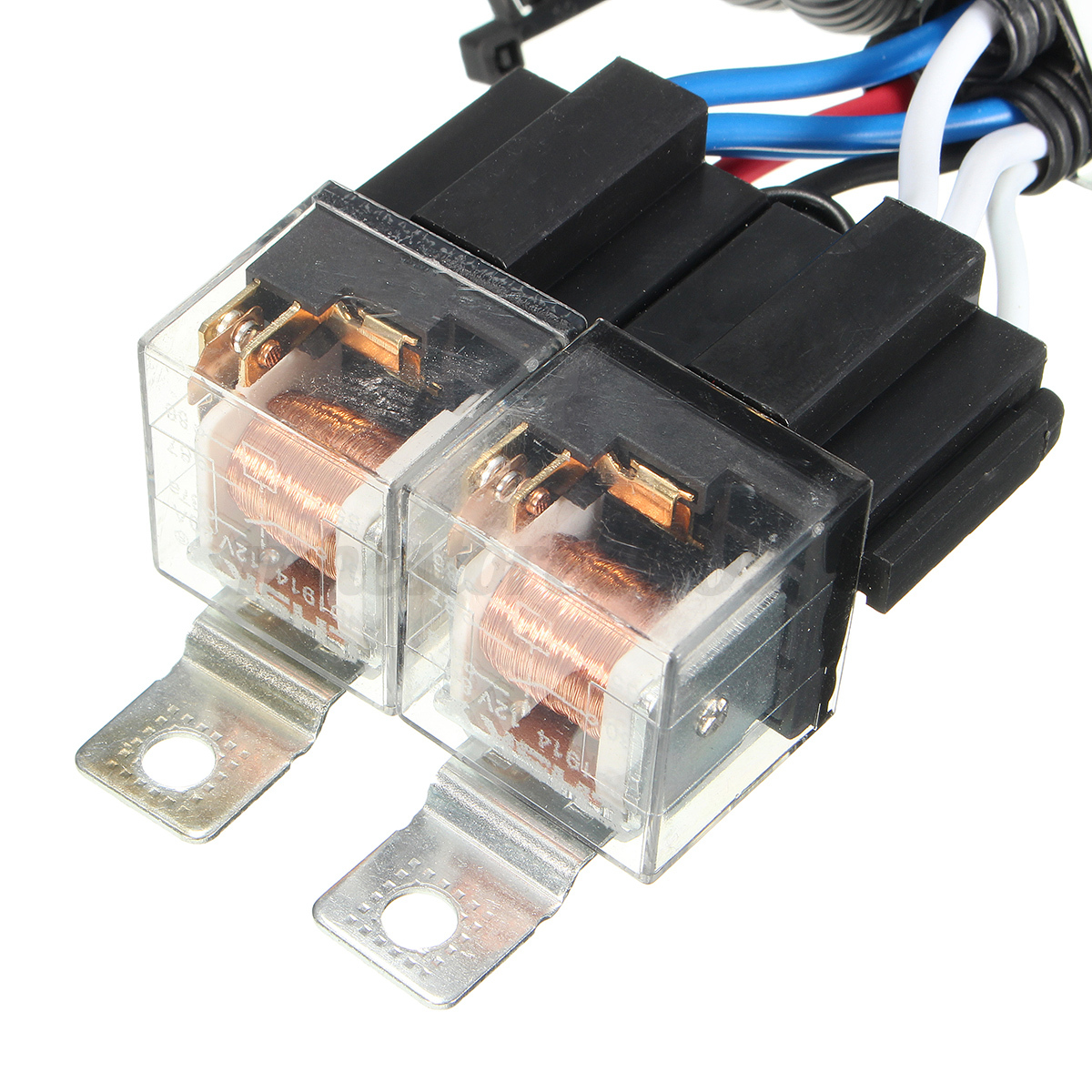 new h4 headlight relay wiring wire harness 2 headlamp. Black Bedroom Furniture Sets. Home Design Ideas