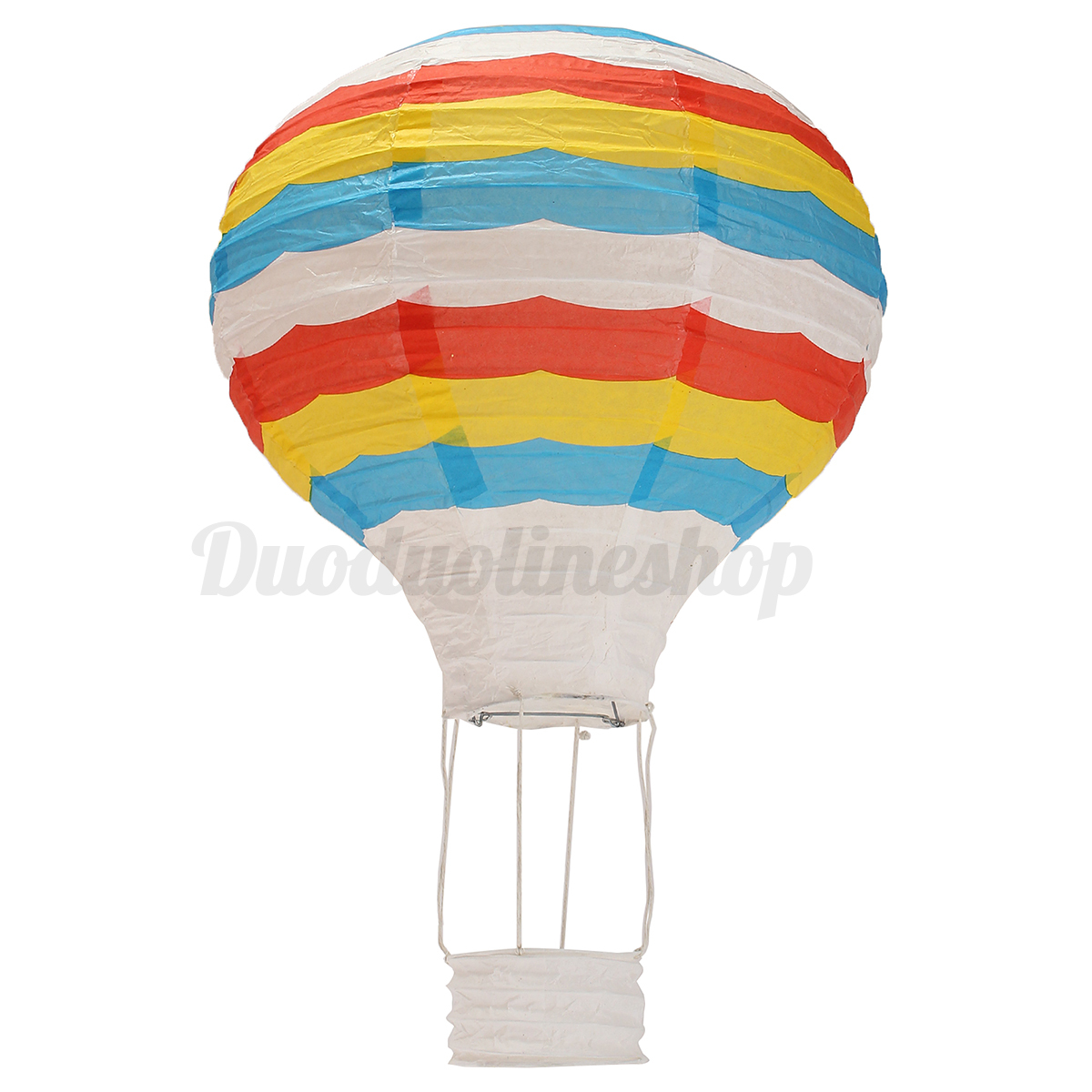 12 39 39 hot air balloon paper lantern lampshade ceiling light for Air balloon decoration