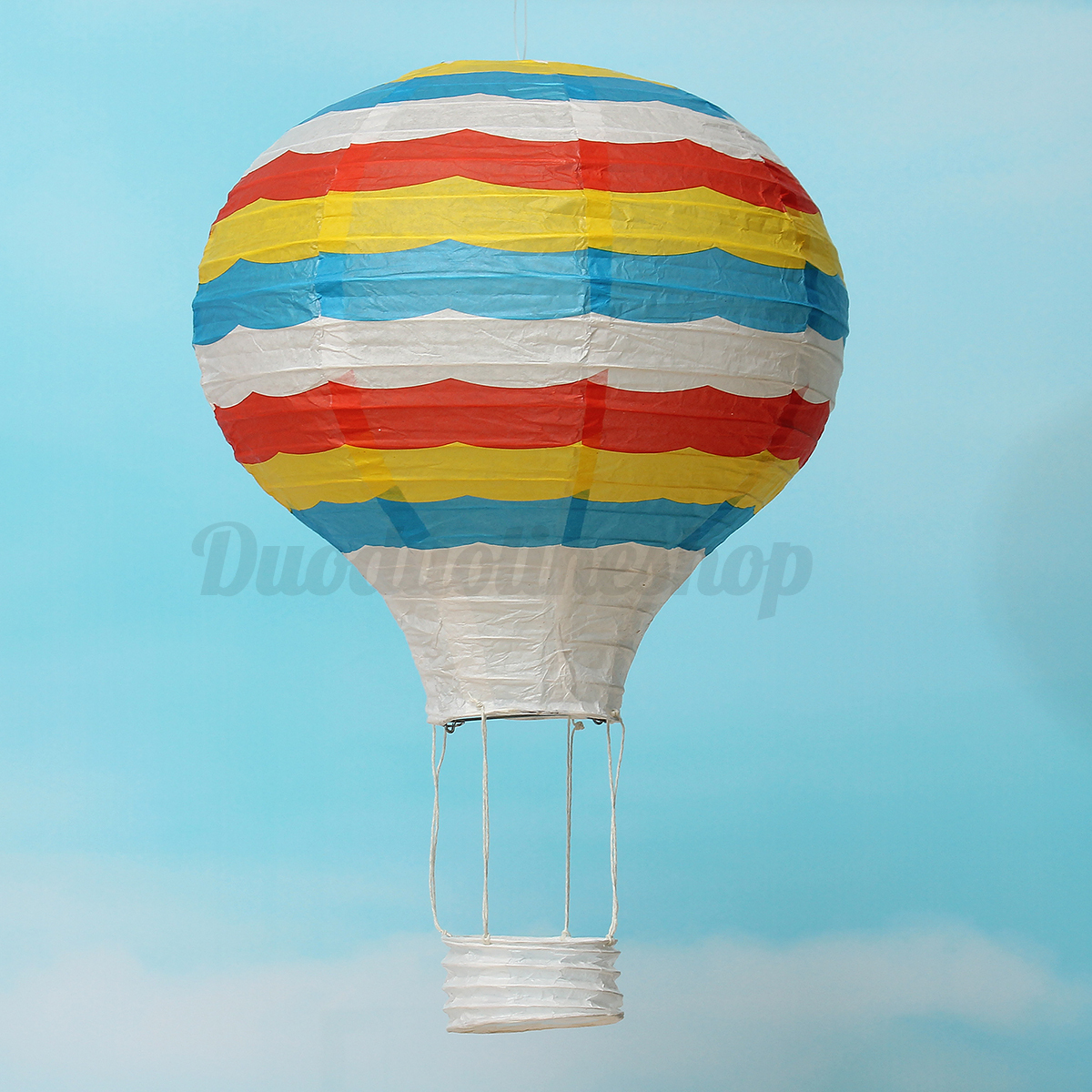 12'' Hot Air Balloon Paper Lantern Lampshade Ceiling Light