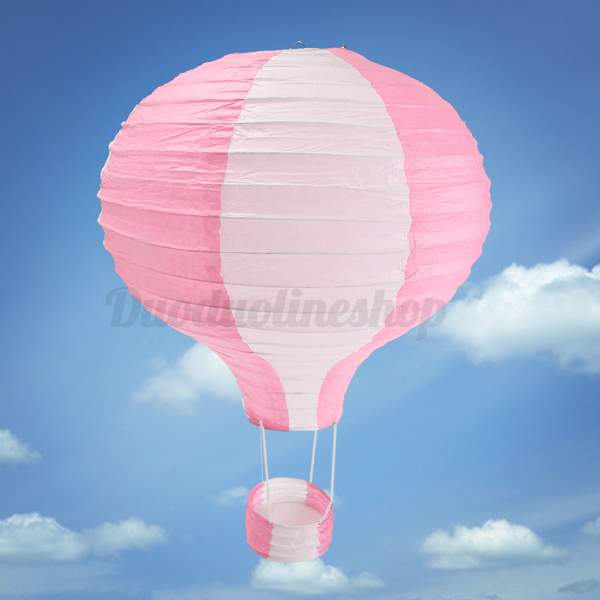 12'' Hot Air Balloon Paper Lantern Lampshade Ceiling Light ...