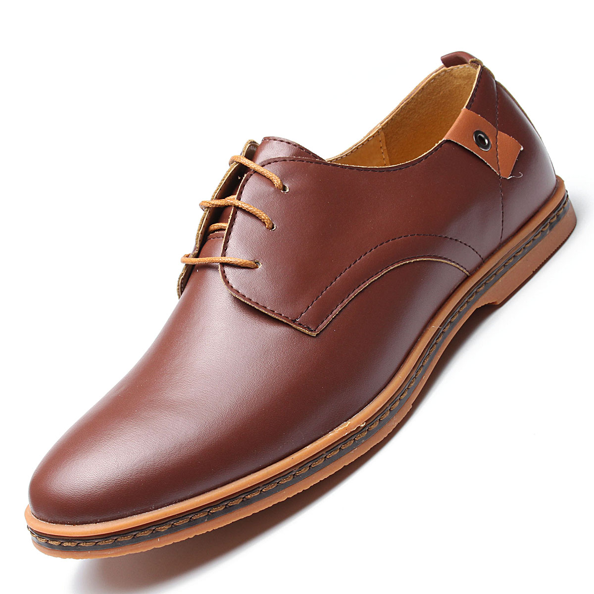 Homme chaussures en cuir Business chaussures habillées chaussures I1Ny3