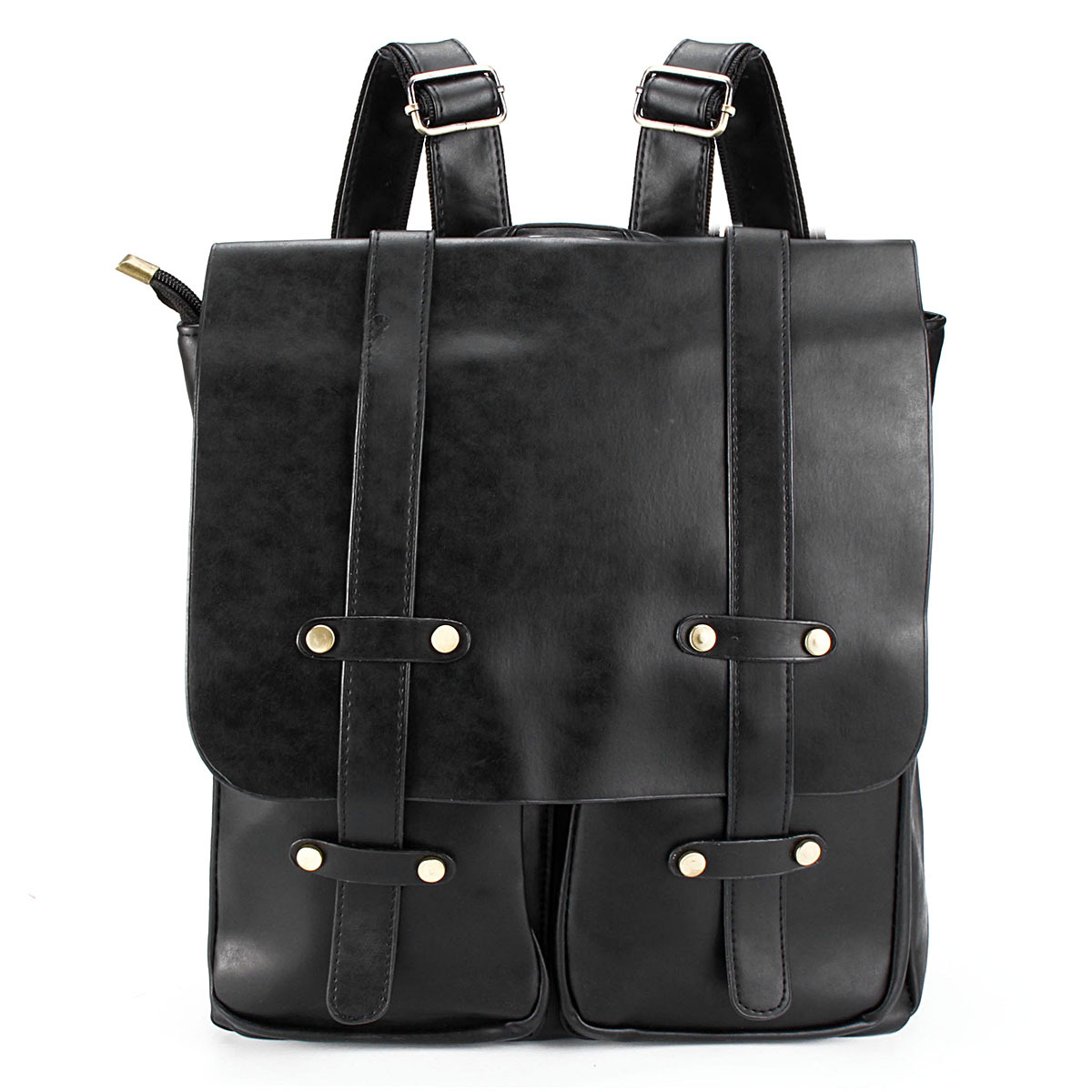 damen herren rucksack leder schulrucksack vintage schultertasche handtasche mode ebay. Black Bedroom Furniture Sets. Home Design Ideas