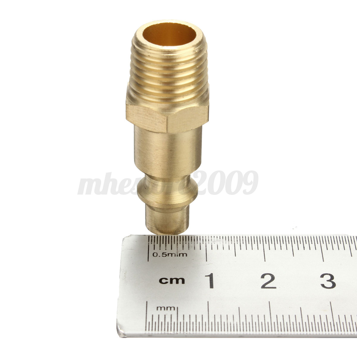 Pcs industrial solid brass air fittings quot npt male