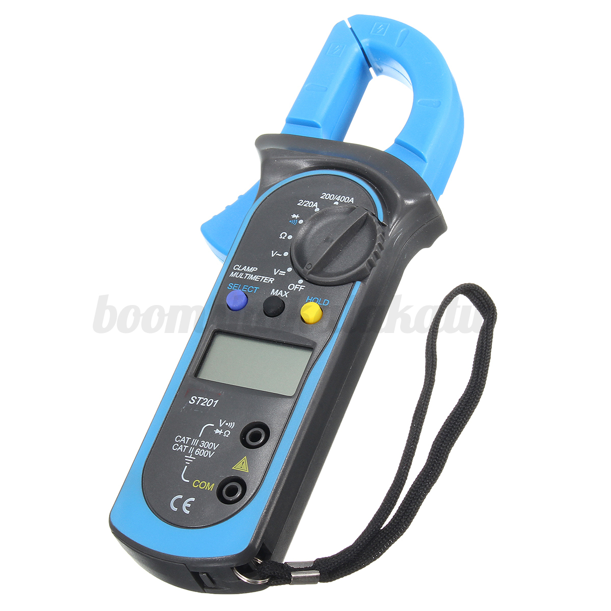 Ac Dc Clamp Meter : Ac dc multimeter electronic tester digital clamp meter