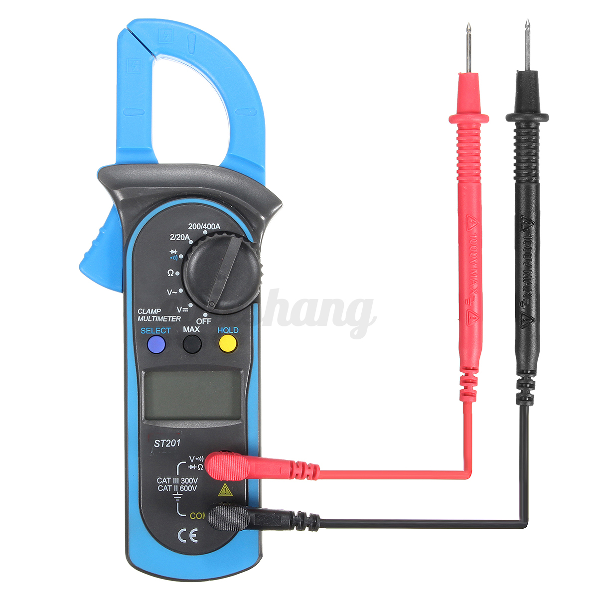 Clamp On Multimeters Current Probes : Digital clamp multimeter amp meter ohm ac dc current