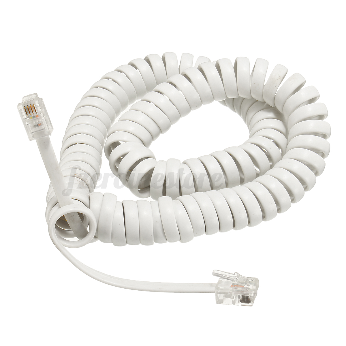 New 3M Telephone Handset Phone Extension Cord Curly Coil ...