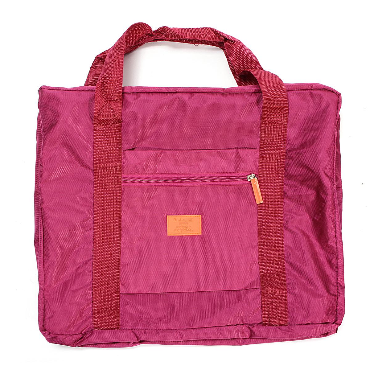 pochette sac cabine bagages v tement rangement main epaule pliable voyage maison ebay. Black Bedroom Furniture Sets. Home Design Ideas