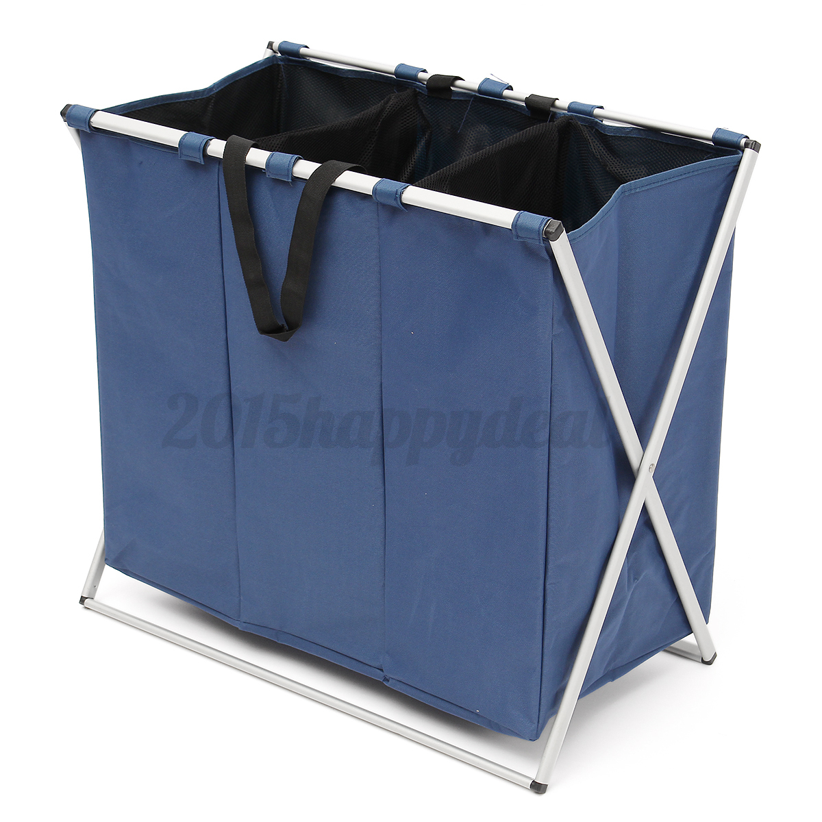 Large washing bag dirty clothes folding laundry storage basket bin hamper 3 bags - Hamper for dirty clothes ...