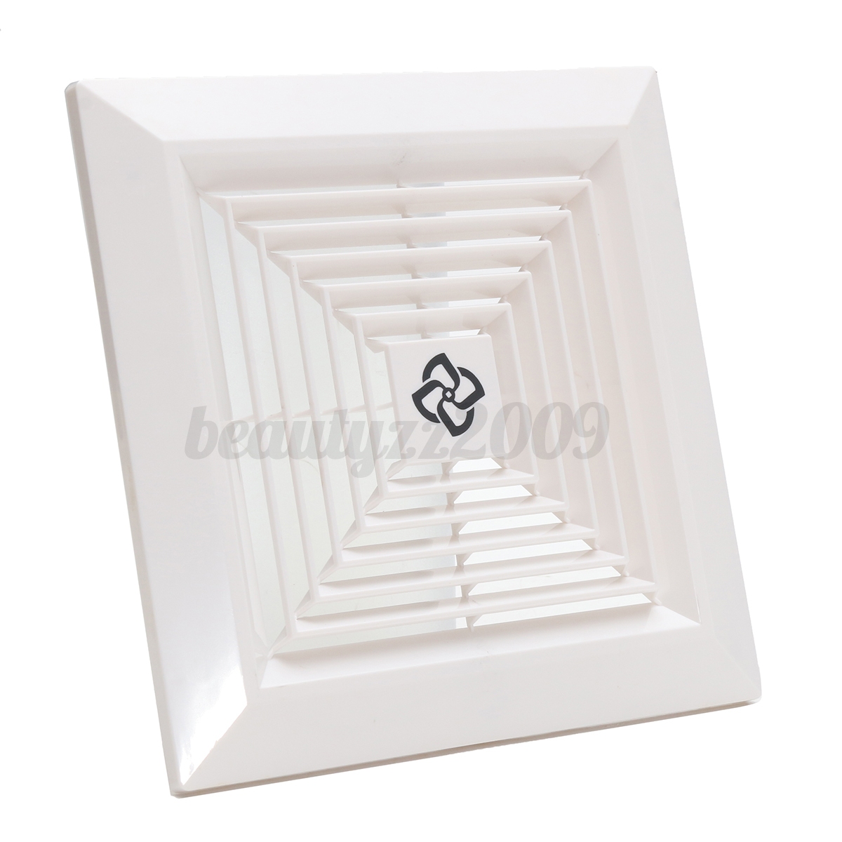 Replacement plastic grille ceiling fan ventilation cover for 9 bathroom fan cover